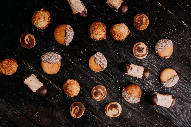 Chocolade-koekjes